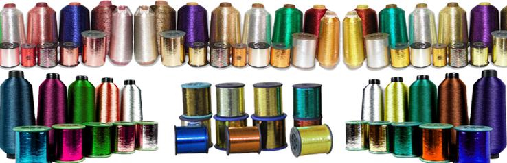 metalic yarns